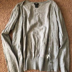 Cardigan sweater worn once